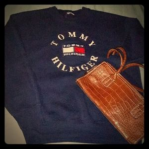 Tommy Hilfiger vintage sweater and Purse